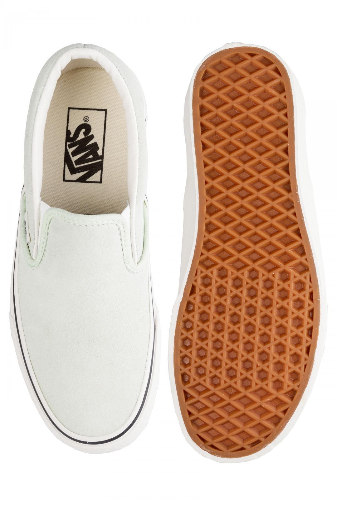 Donna Vans Classic Slip-On ambre green   Scarpe da skate
