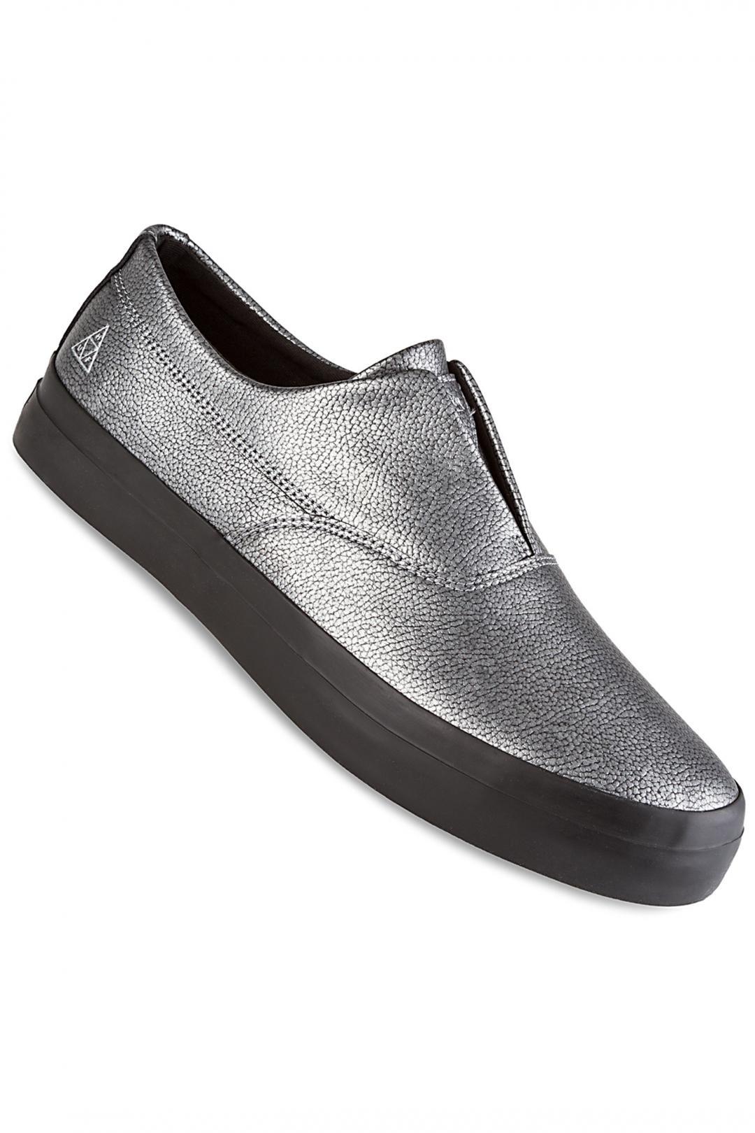 Uomo HUF Dylan Slip On silver metal | Sneakers slip on