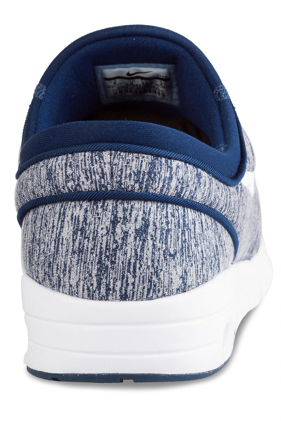 Uomo Nike SB Stefan Janoski Max blue void white   Sneaker